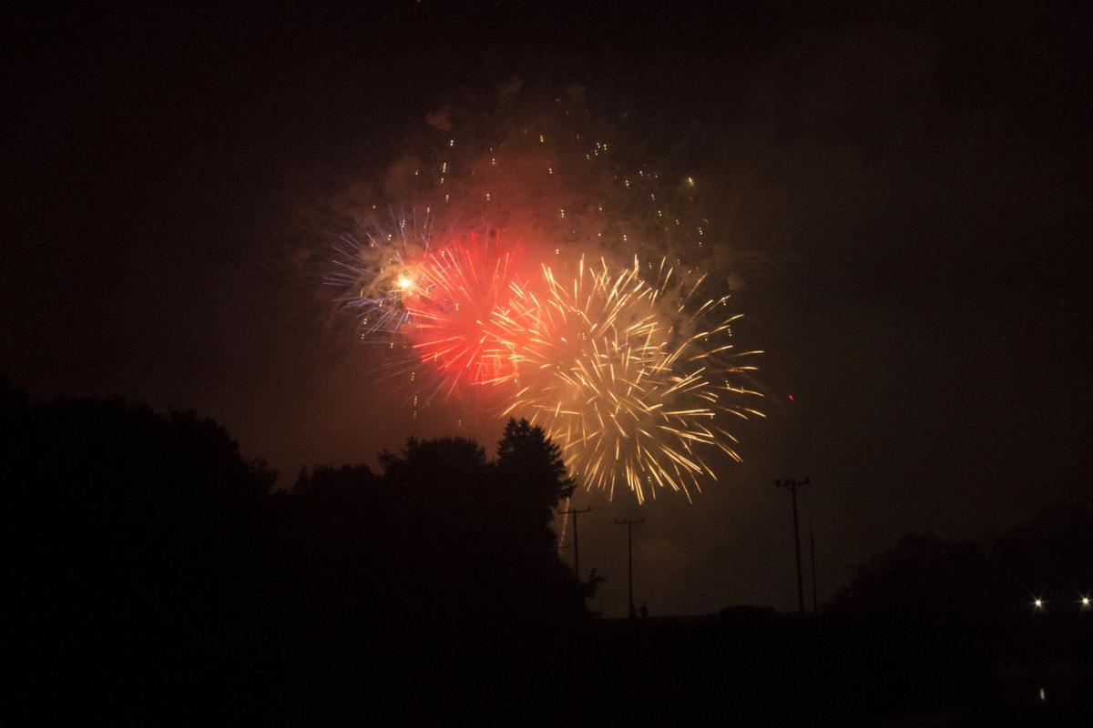 Olean 4th of July fireworks display