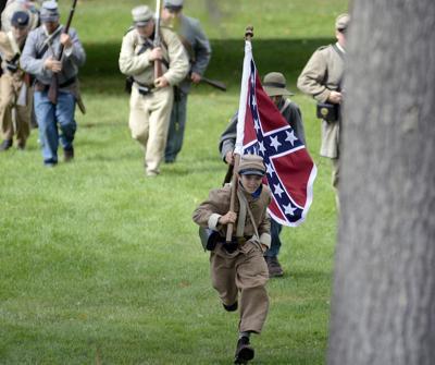 Local Civil War reenactors see concerns over Confederate