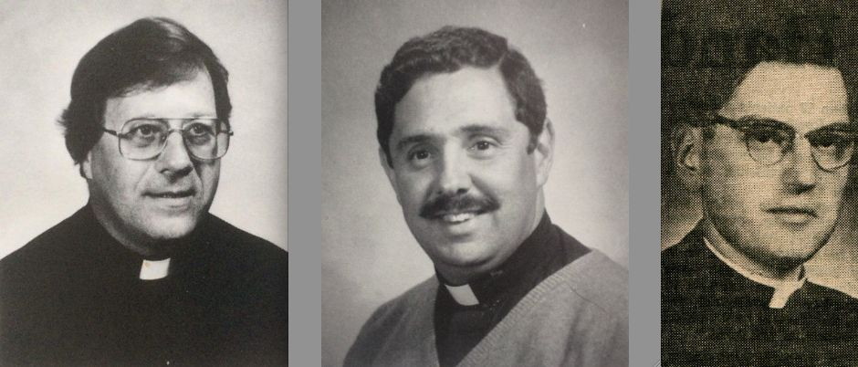 Accused priests with local connections