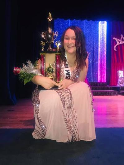 2021 Sully County Junior Snow Queen Lilly Paxton 1st Runner Up South Dakota Junior Snow Queen