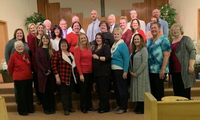 Singing in this year's cantata were Soprano: Susan Lamb, Nola LaRosh, Lynne Leonard, Karissa Osterkamp, and Julene Yackley. Alto: Gerri Carpenter, LaJena Gruis, Diane Lorenz, Stacie Mosiman, Sheila Ring, Jolene Schall, Mary Sieck, Emily Sovell, Valerie Wolforth, and Jackie Yackley. Tenor: Jeff Adel and Kevin Heath. Bass: Mike Miles, Mike Patrick, Joey Stahl, Chuck Todd, and Merlin Voorhees. The singers were directed by Marla Mosiman and accompanied by Judy Foth. Karen Byrum was the narrator.