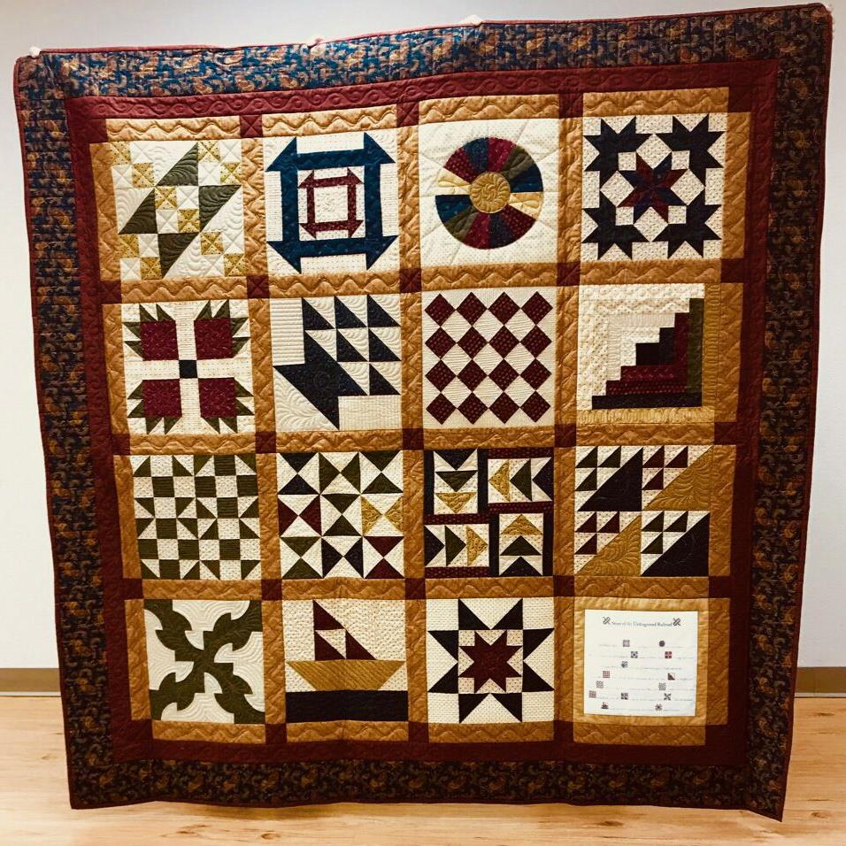 The code in the quilt