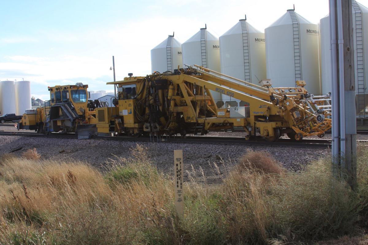 Track repair equipment