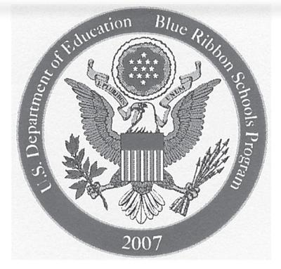 Blunt Elementary named 2007 Blue Ribbon School