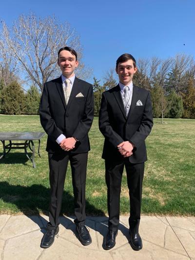 Brothers Griffin and Garrett Petersen