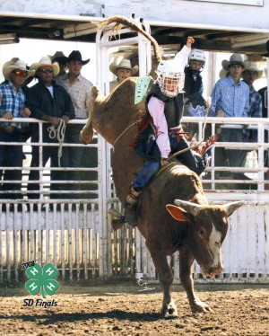 Hill Qualifies To Compete At Largest Junior High Rodeo