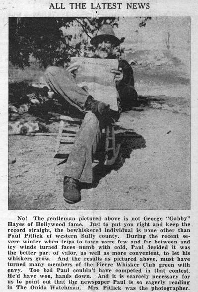 Perhaps the 1985 Watchman crew was inspired by this story from July 1950 to create the 'Watchman on the Road' photo feature.
