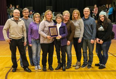 Rilling inducted into Athletic  Hall of Fame December 17