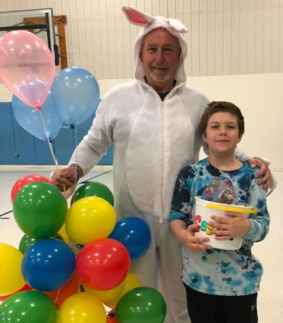 Deacon Irvine received the honor of most creative for his NASA Peanut Butter Spaceship.
