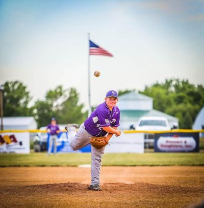 Post 79 14U pitcher Bo McGee.