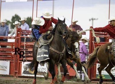 Brent Sutton will be the pick-up man at the Catfish Stampede Rodeo.