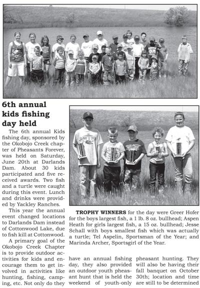 6th Annual Kids Fishing July 2009