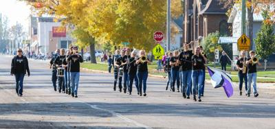 Sully Buttes marching band