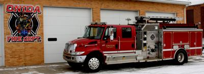 With the addition of a new truck to their fleet, Onida firefighters will be able to more efficiently respond to fire and rescue scenarios.