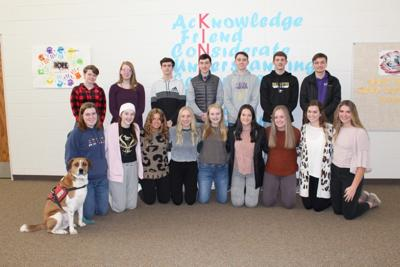 To commemorate FCCLA week, all students involved in FCCLA activities partook in a group photo.