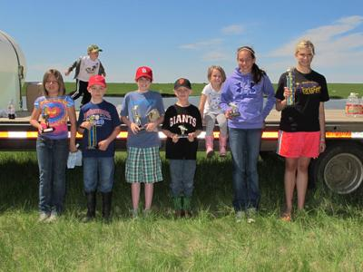 2011 Kids Fishing winners