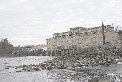 St. Croix Falls dam