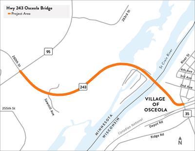 Highway 243 bridge