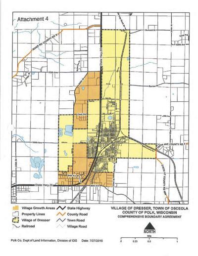 State approves Dresser Osceola boundary agreement