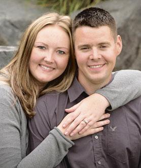 Tara Gillespie and Matthew Adam