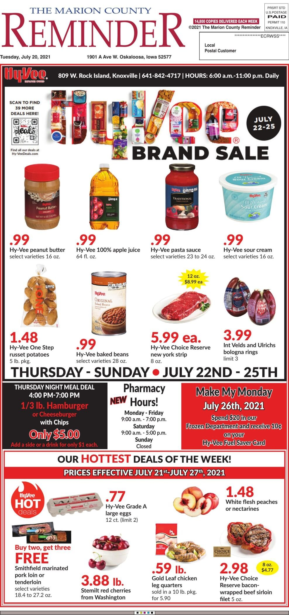 The Marion County Reminder week of 07/20/21