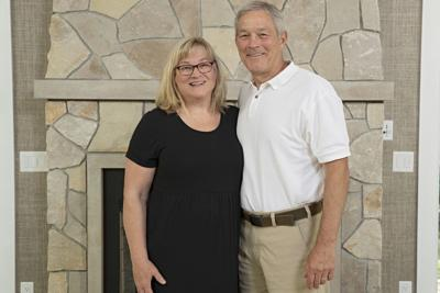 Mary and Kirk Ferentz