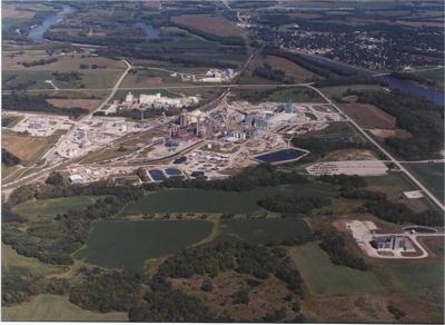 Cargill Eddyville aerial