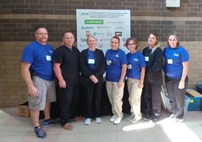 Osky Dental volunteer at Iowa Mission of Mercy