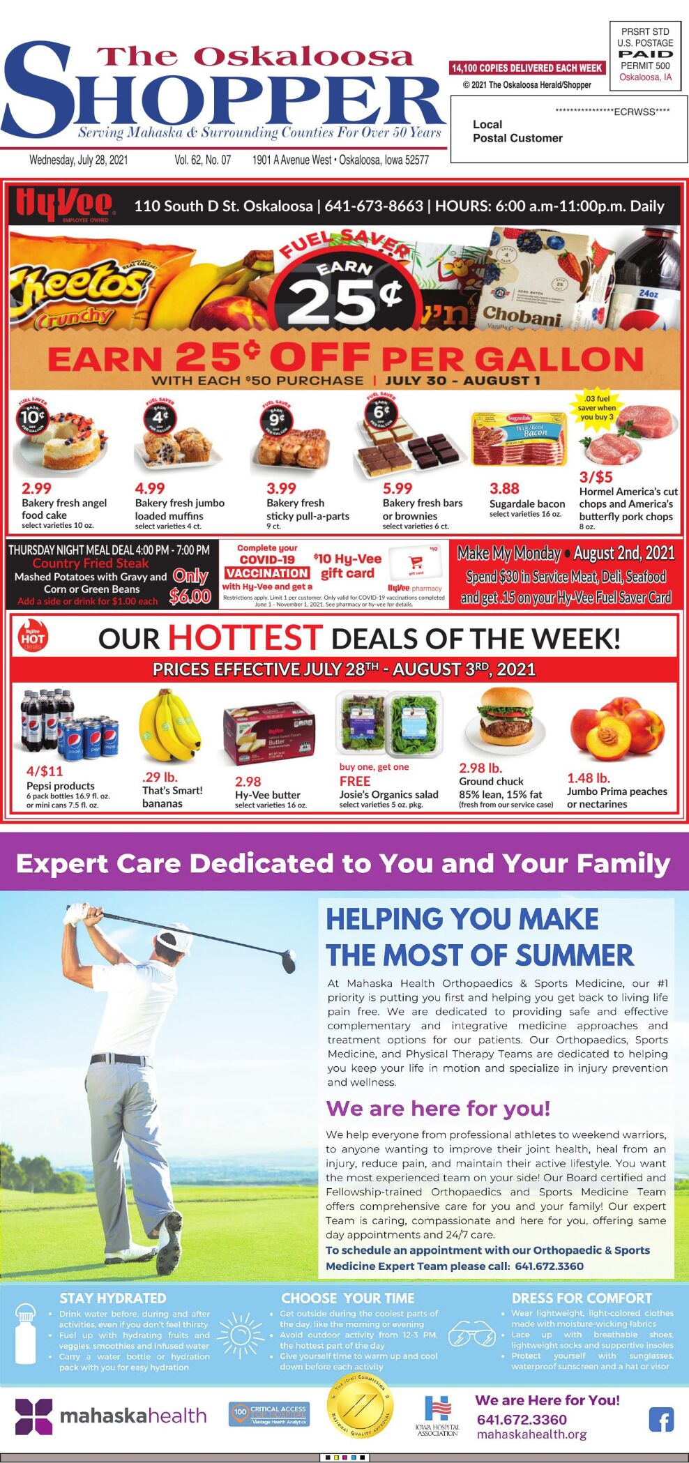 The Oskaloosa Shopper week of 07/28/21