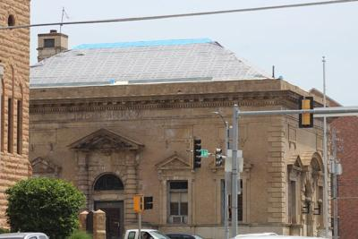 Work being done on old Oskaloosa Post Office