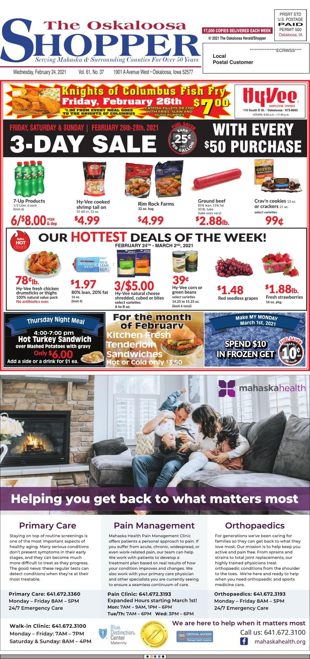 Oskaloosa Shopper week of 02/24/21
