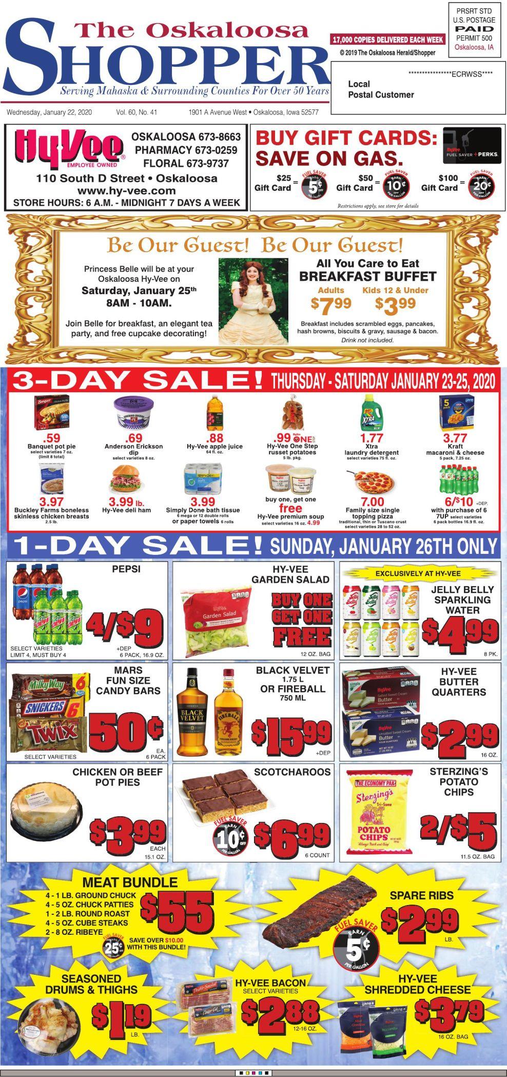 Oskaloosa Shopper week of 1/22/20