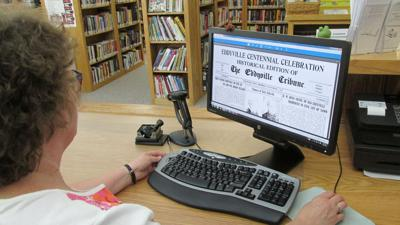 Eddyville Library digital newspaper archives