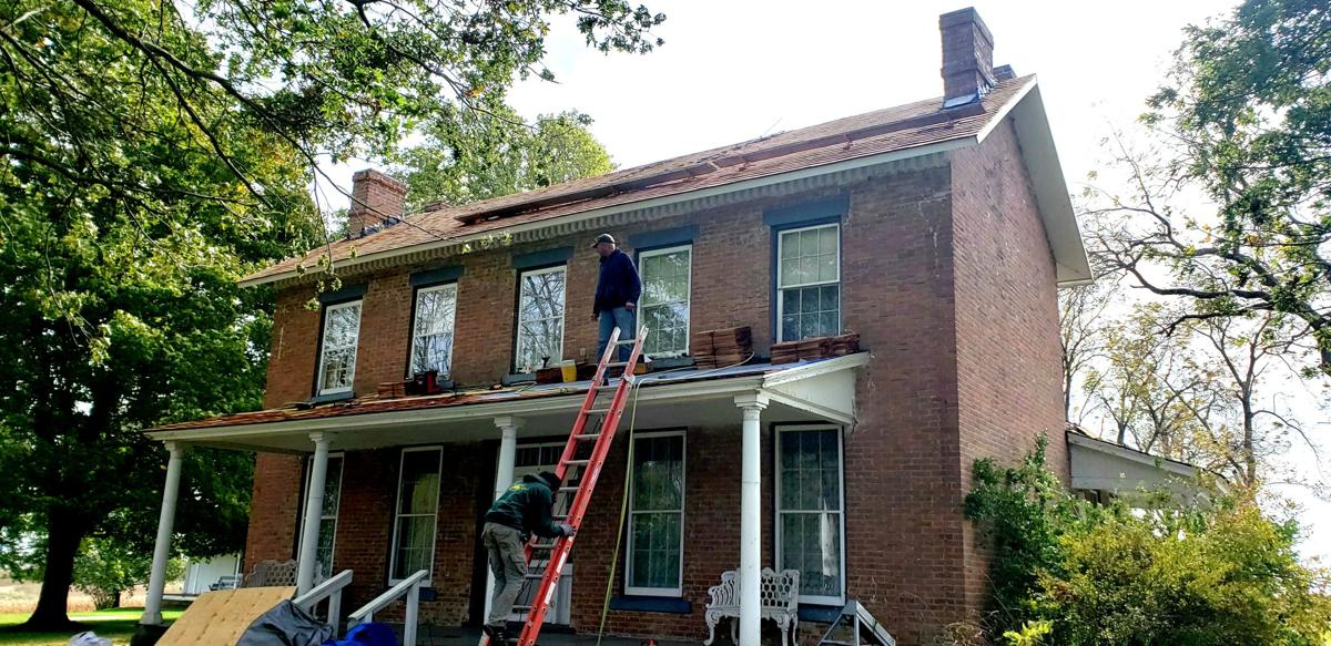 Nelson House gets new roof