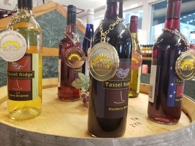 Tassel Ridge award-winning wine