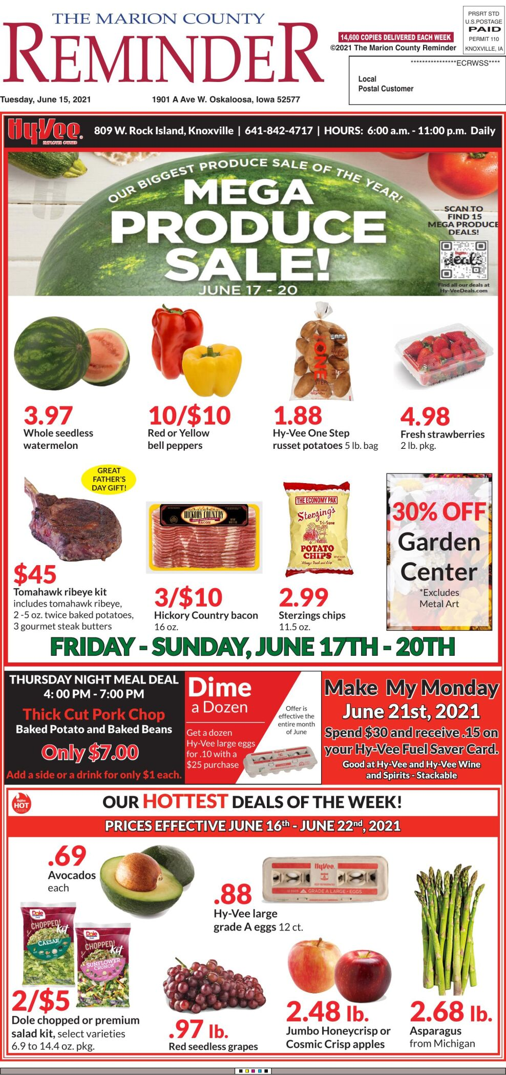 The Marion County Reminder week of 06/15/21
