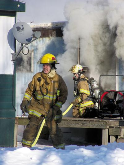 Mobile Home Fire 012607