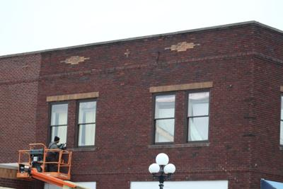Second phase facade project underway