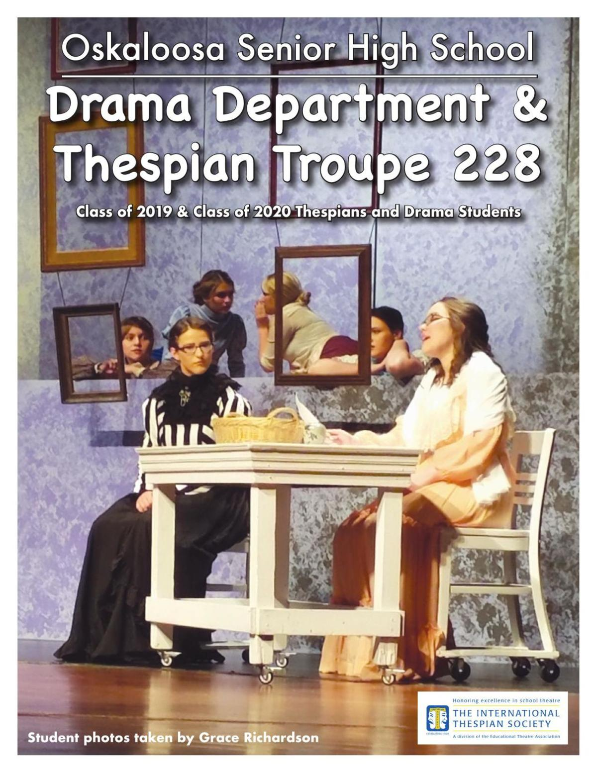 Oskaloosa Drama Department & Thespian Troupe 228