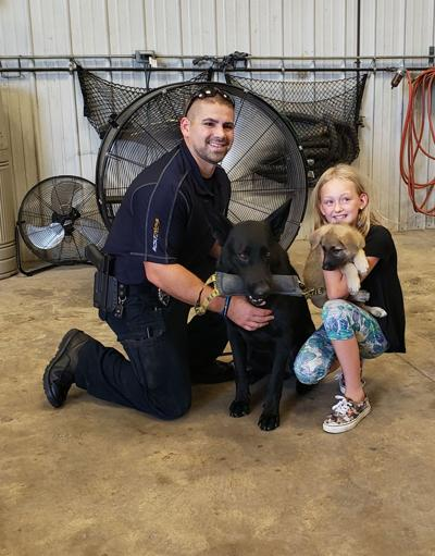 Meeting Duke and Officer Rogers