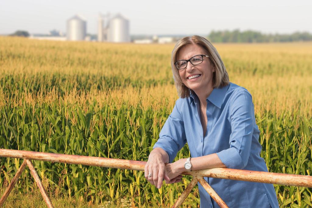 Rural economic development among key issues for Rita Hart