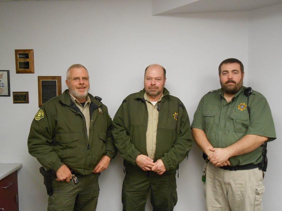 A few of the Mahaska Co. Sheriffs Office No Shave November participants