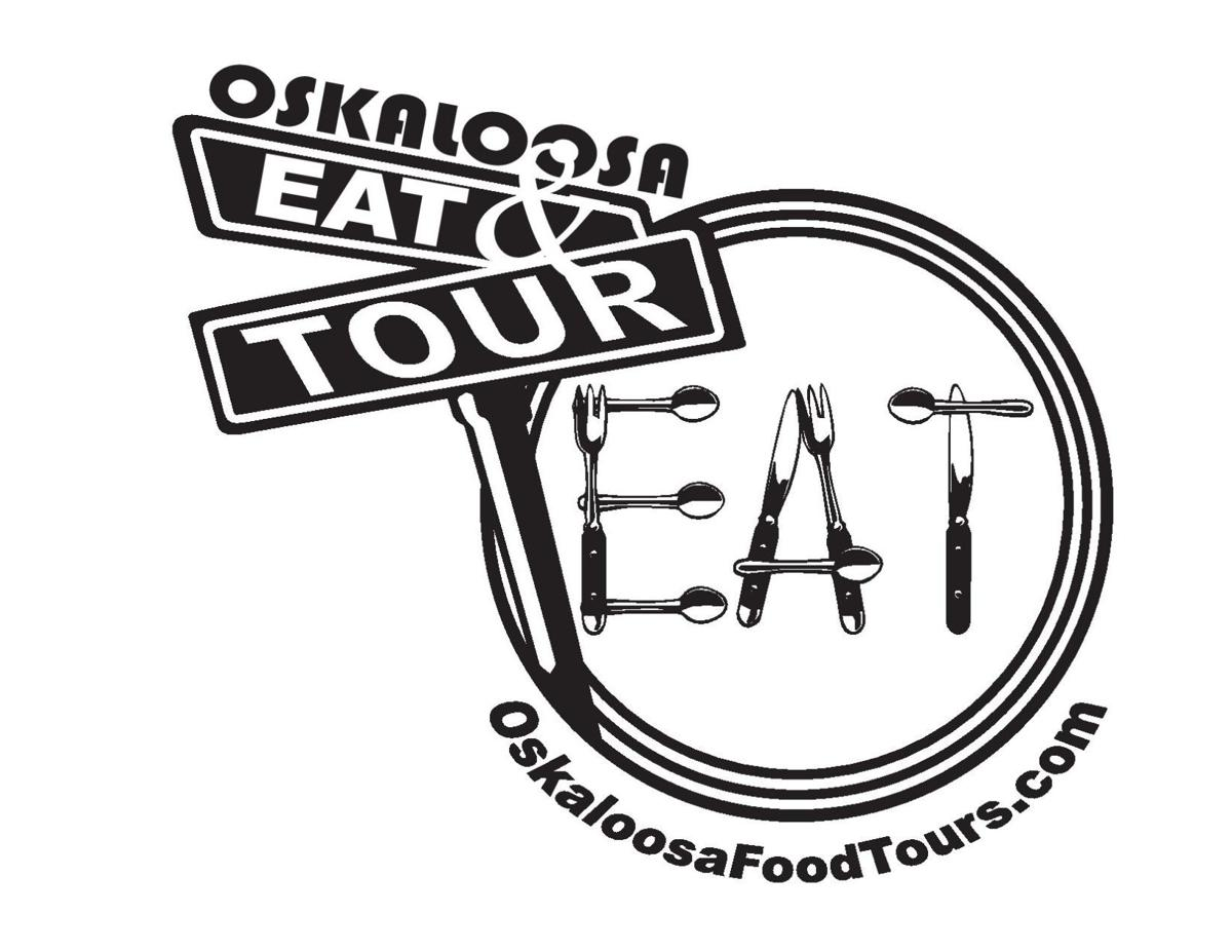 Oskaloosa food tour logo