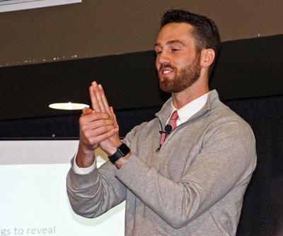 Shaull shares success story