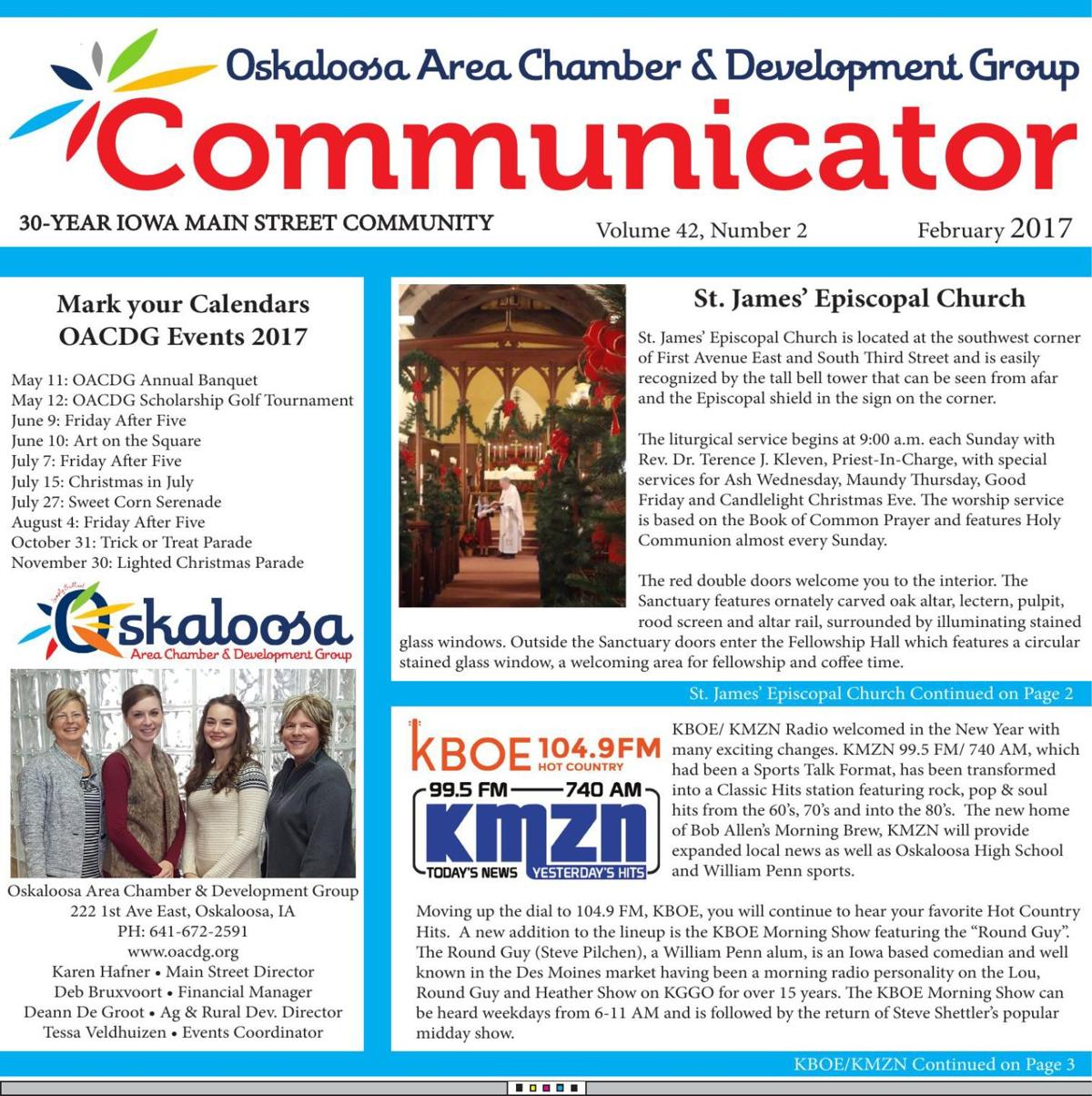 February 2017 Chamber Communicator