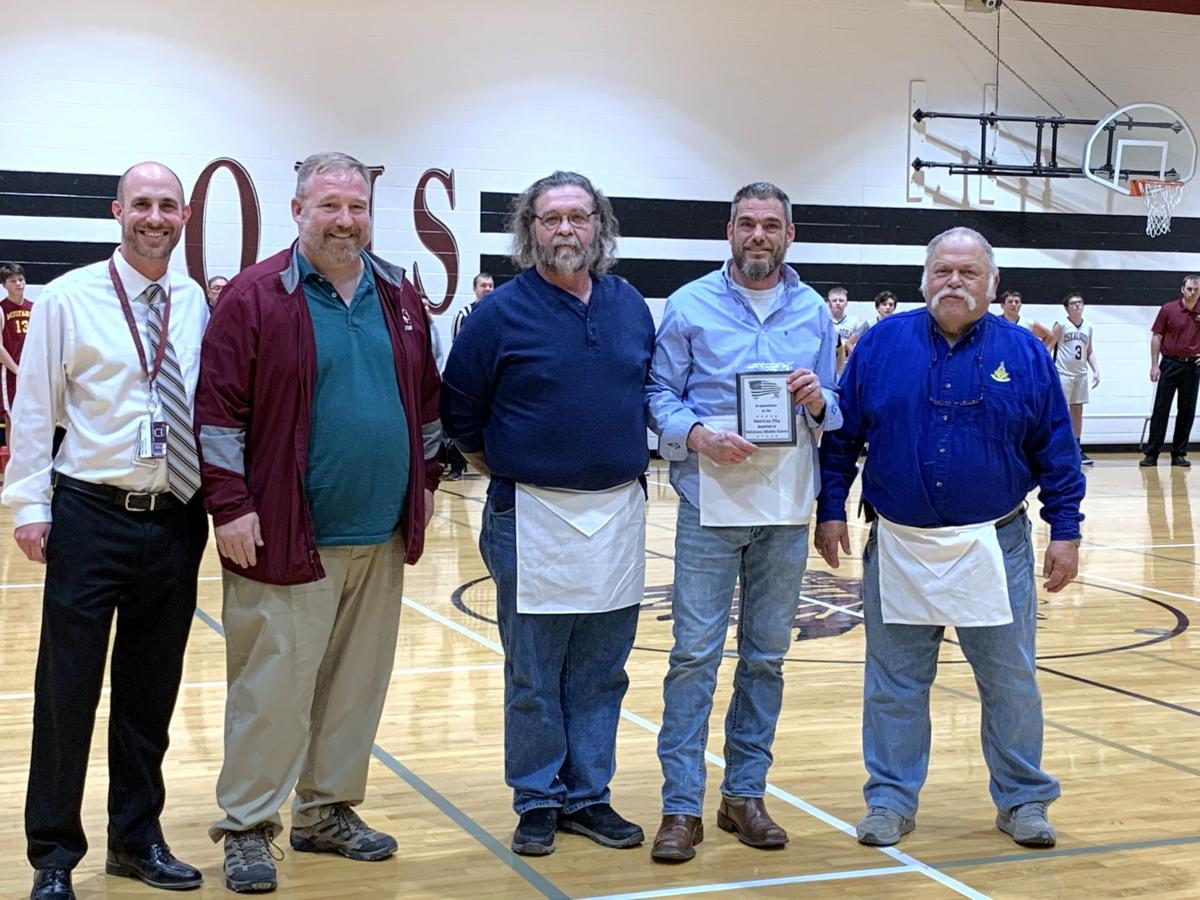 Masons, Campbell's Drivers Ed donate funds