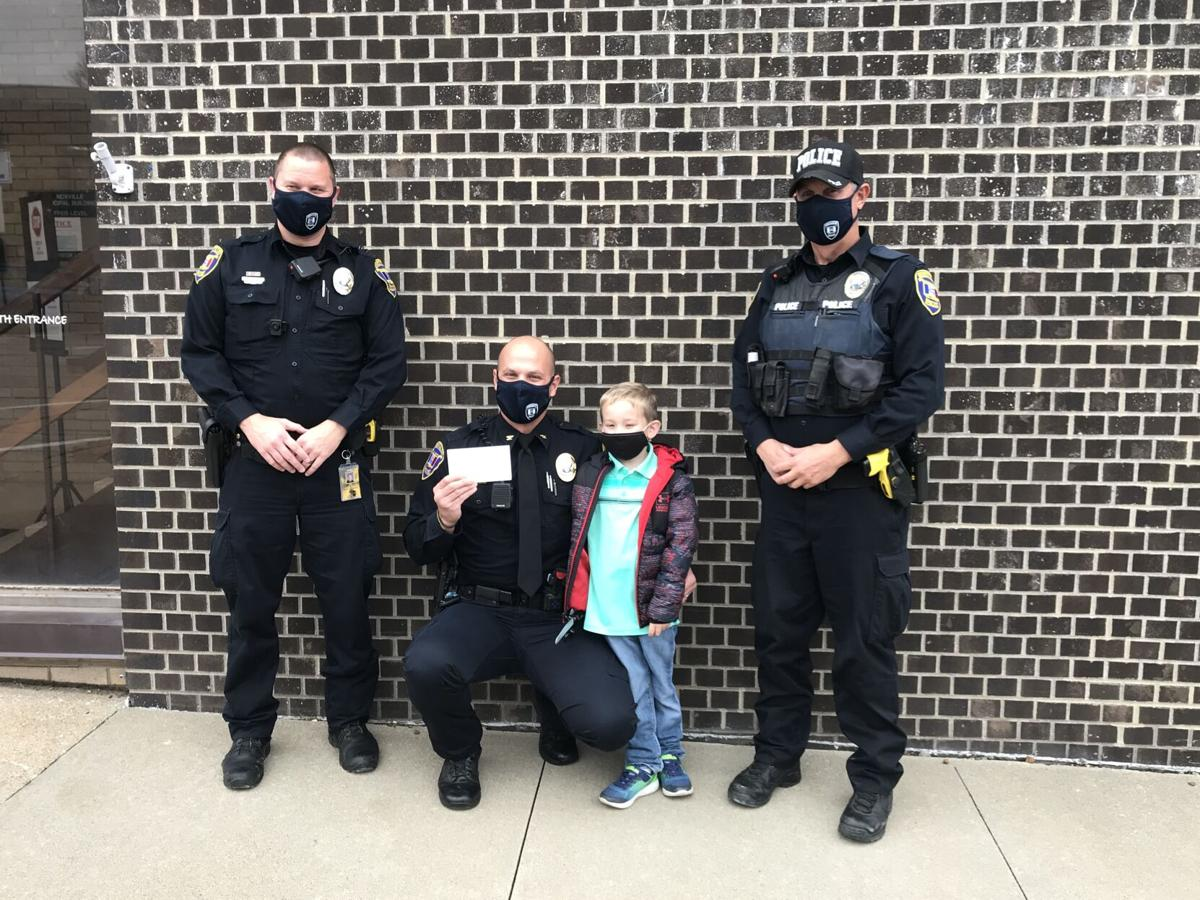 Five-year-old donates allowance money toward Knoxville PD fundraiser