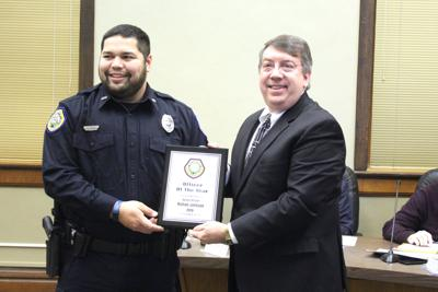 Officer of the Year Nathan Johnson