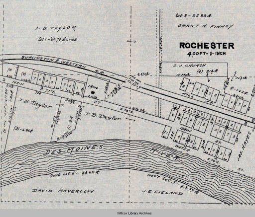 Rochester map