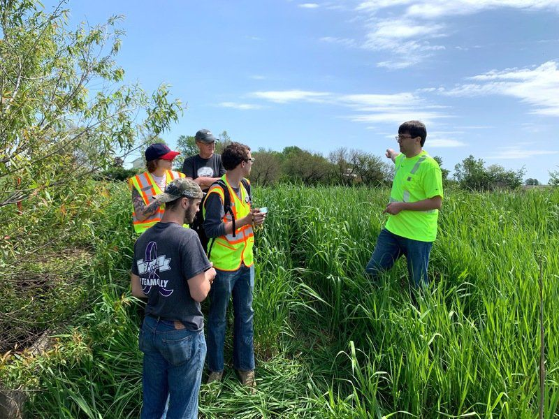 WPU and IHCC students partner with Green Iowa and Oskaloosa Community